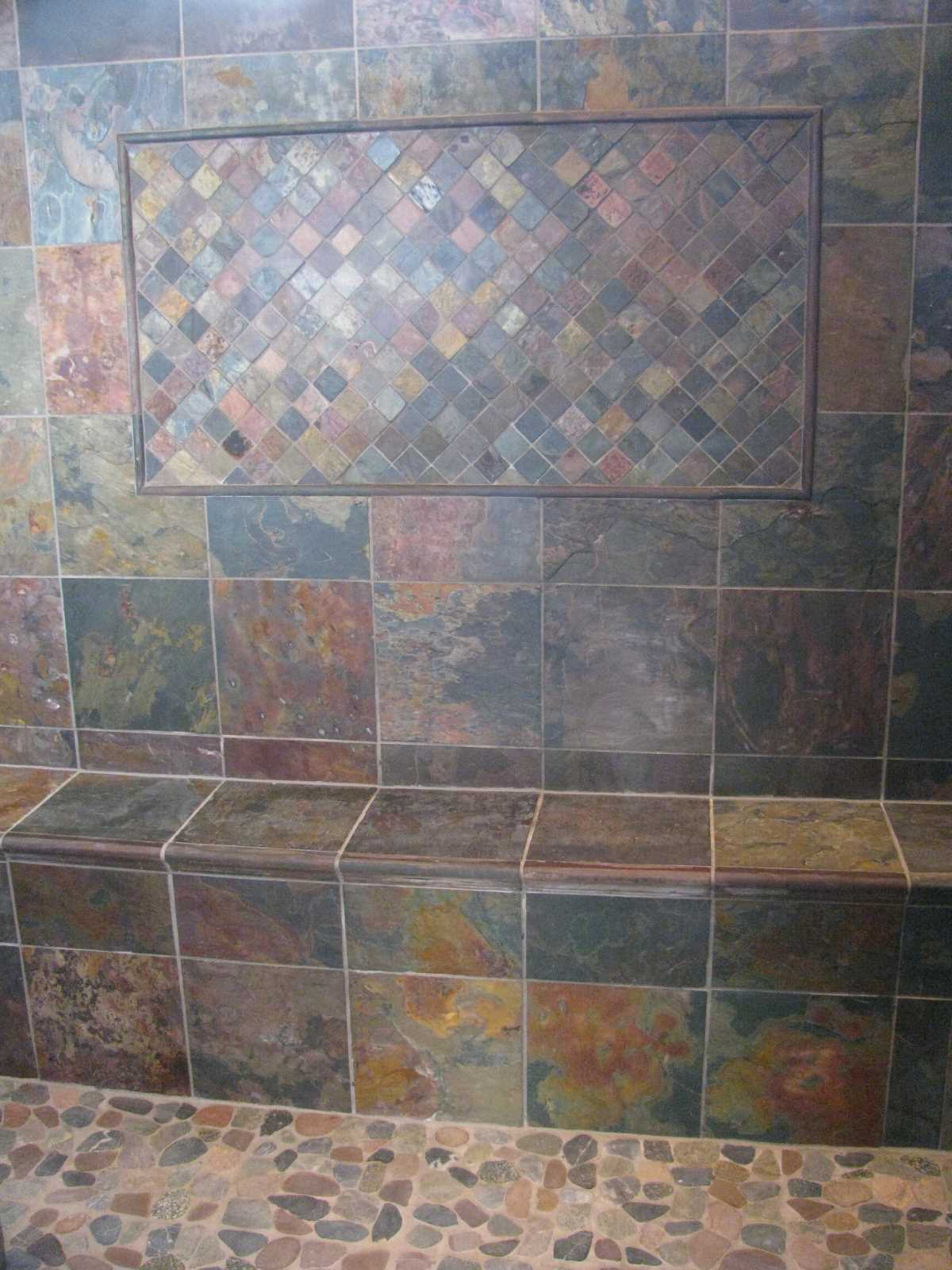 Pinnacle tile flooring inc ceramic stone tile bath Ceramic stone tile